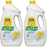 Palmolive Eco Gel Dishwasher Detergent, Lemon Splash, 75 Fl Oz, 2-Pack