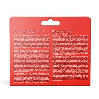 Amazon Basic Care - Kit de premiers secours - 54 pièces