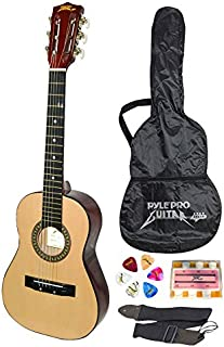 Pyle Pro Beginner Acoustic Guitar - 30-inch w/ Carrying Case & Guitar Accessories, Strap, Tuner and Pick, Ideal for Beginners and  Ready to Use Out of the Box (PGAKT30_0)