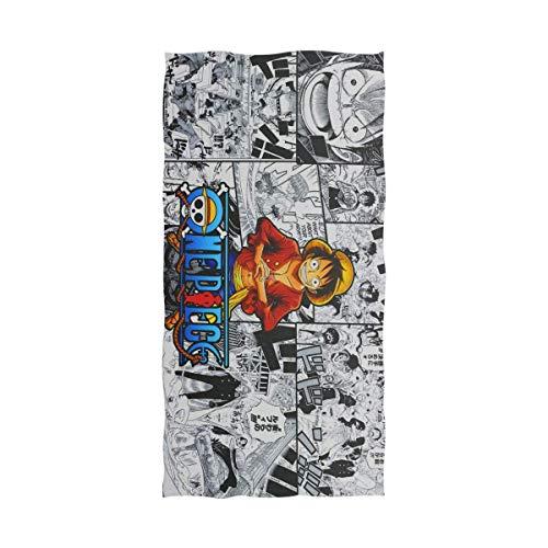 Jesse Tobias Anime One Piece Luffy Toalla de baño Toalla de