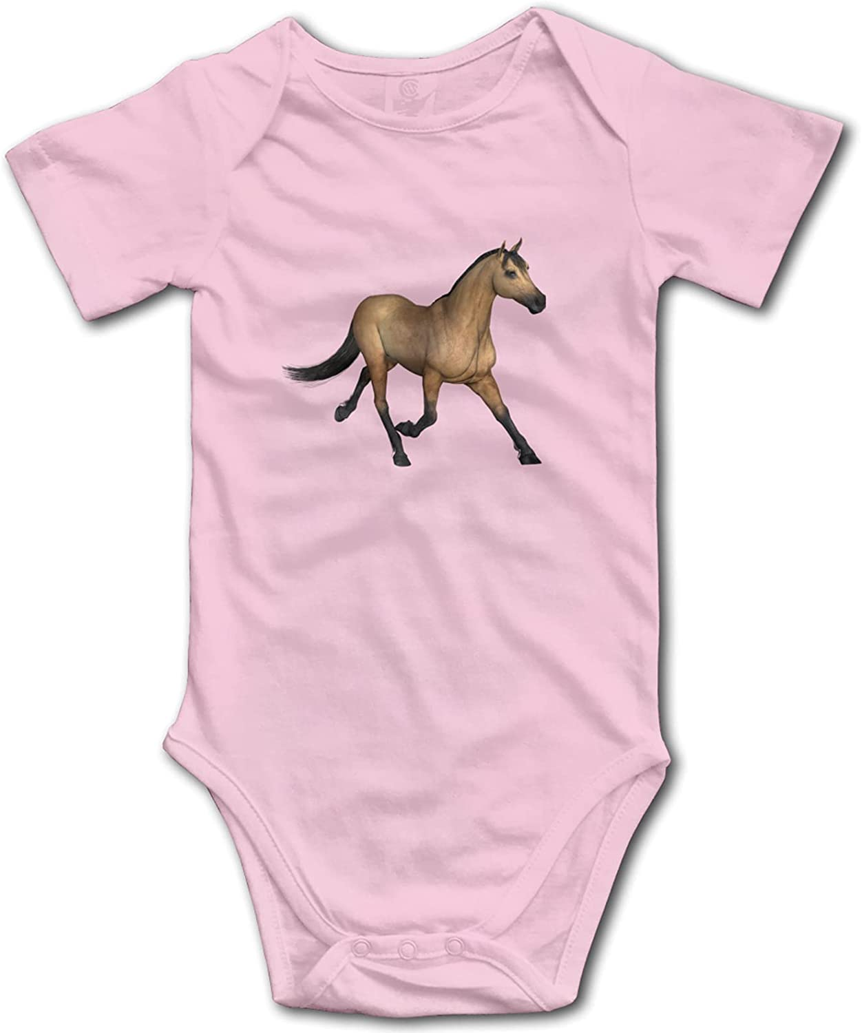 nana home Selling and Superior selling Running 3D Brown Crawl Horse Onesie Baby Clothes