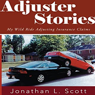 Adjuster Stories audiobook cover art