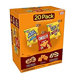 Keebler,Cookies and Crackers, Variety Pack,  21.2 oz (20 Count), Packaging may vary