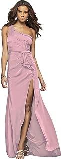 Faviana Womens 7892 Satin One Shoulder Prom Evening Dress