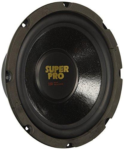 8 Inch Car Subwoofer Speaker - 350 Watt High Powered Car Audio Sound Component Speaker System w/ 1.5 Inch High-Temperature Kapton Voice Coil, 87.7 dB, 8 Ohm, 50 oz Magnet - Pyramid PW848USX