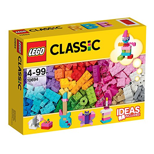 LEGO Classic - Complementos Creativos de Nuevos Colores, Juguete de Construcción Creativo con Ladillos Coloridos (10694) , color/modelo surtido