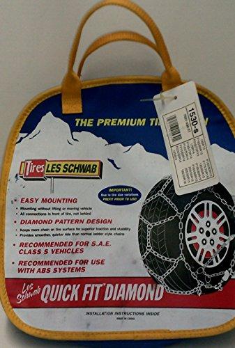 Quick Fit Diamond Premium Tire Chains 1530-s-One Pair