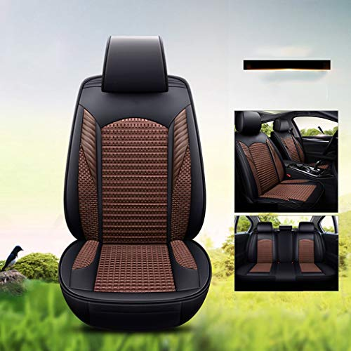 Find Cheap PU Leather Auto Car Seat Covers,3D Three-Dimensional Seat Cushion, All Surrounded by Four...