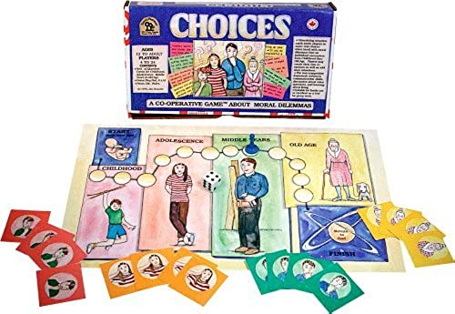 Family Pastimes Choices - A Co-operative Game by Family Pastimes
