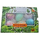 DAMAJIANGM Bola de baño de Huevo de Dinosaurio para niños Bola de Sal de baño explosiva de Dibujos Animados Lindo Jabón de Bola de Burbujas de múltiples Burbujas Rica fórmula Totalmente Natural