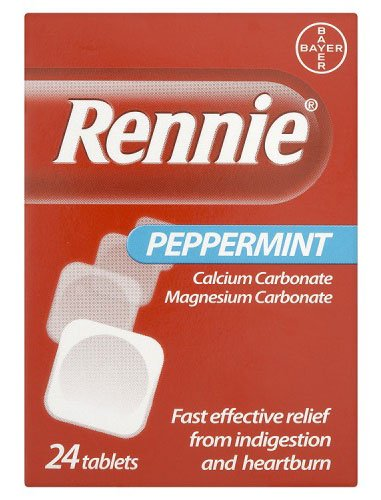 Rennie Peppermint 24 Tablets