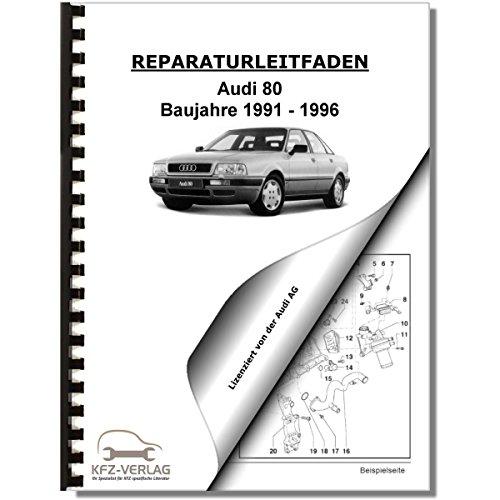 Audi 80, Typ 8C (91-96) Elektrische Anlage, Elektrik, Systeme - Reparaturanleitung