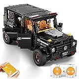 Gettesy Bloques de construcción para coche, 1662, bloques de construcción para coche de carreras G500 AWD Wagon, todoterreno, compatible con Lego Technic