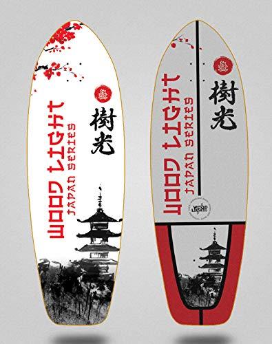 Wood light Skateboard Skateboard Surfboard Deck Board Japan Series Palace 31