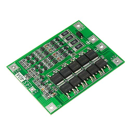 ZJYSM Mould 4S 40A Li-ion Lithium Battery 18650 Charger PCB BMS Protection Board with Balance for Drill Motor 14.8V 16.8V Lipo Cell Module