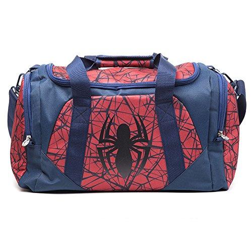 Marvel MB00172SPN Spiderman Logo Bolsa de Deporte - Rojo
