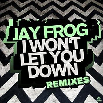 I Won't Let You Down (Remixes)