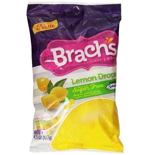 Brach's Lemon Drops Sugar Free Candy 12 packs (4.5 oz per pack)