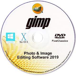 GIMP 2019 Photo Editor Premium Professional Image Editing Software for PC Windows 10 8.1 8 7 Vista XP, Mac OS X & Linux - Full Program & No Monthly Subscription!