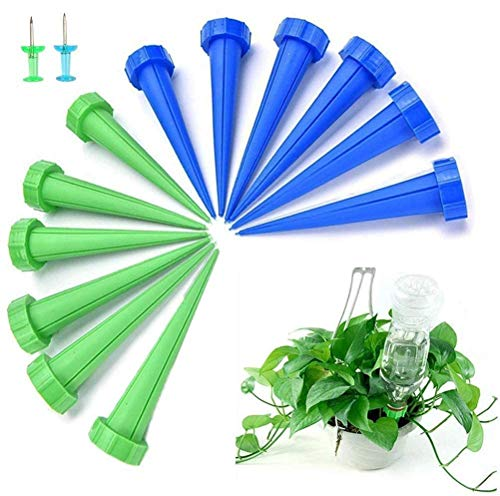 ECHG 12Pcs Automatic Plant Watering Spike, Plant Watering Drip Irrigation...