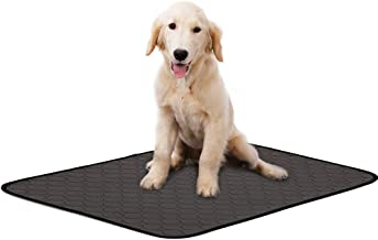 IDOMIK Dog Bed Mat Waterproof Crate Kennel Pad Sleeping Mattress with Anti Slip Bottom for Small Medium and Large Dogs Cats Washable Pet Mat for Eating Bowls, Dog Cages, Cars and Sofa S-L
