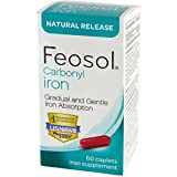 Feosol Natural Release, Carbonyl Iron,...