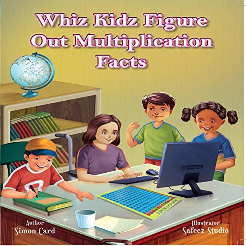 Whiz Kidz Figure Out Multiplication Facts  audiobook cover art