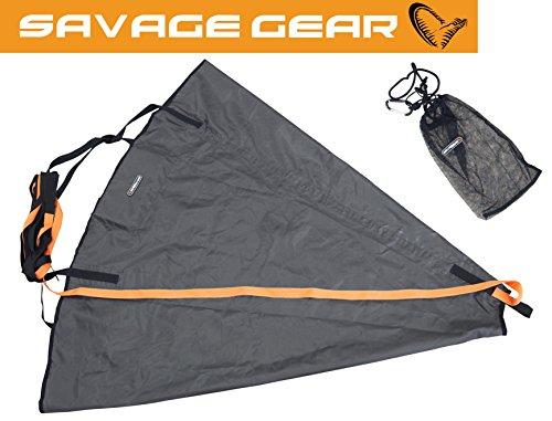 Savage Gear Drogue MP L 120cm x 120cm Treibanker Driftsack, Driftanker zum Bootsangeln, Driftsack zur Verringerung der Abdrift