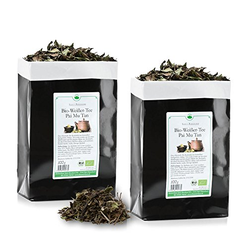Sanct Bernhard Bio-Weißer Tee - Pai Mu Tan, 3 x 100 g