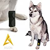 Agon Dog Canine Front Leg Brace Paw Compression Wraps With Protects Wounds Brace Heals and Prevents Injuries and Sprains Helps with Loss of Stability caused by Arthritis (Large/X-Large)