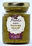 SICILFRUTTI PESTO DI PISTACCHIO di Bronte DOP 90 Gr. Pesto di pistacchio salato, pesto pistacchio per primi piatti, specialità siciliane. Pesto al pistacchio 100% Made in Italy