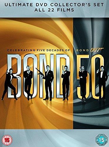 James Bond: Bond 50 (22 Dvd) [Edizione: Regno Unito]
