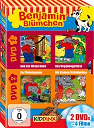 Der kleine Hund/ Das Regenbogenfest/ Der Geheimgang/ Die kleinen Schildkröten [2 DVDs]