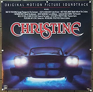Christine (1983) Original Movie Soundtrack Poster from Motown Records