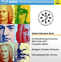 Six Brandenburg Cons BWV 1046-1051 Comp Edition