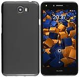 mumbi Coques compatible avec Huawei Y5 II, noir