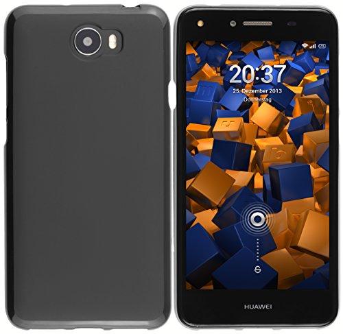 mumbi Custodia compatibile con Huawei Y5 II, nero