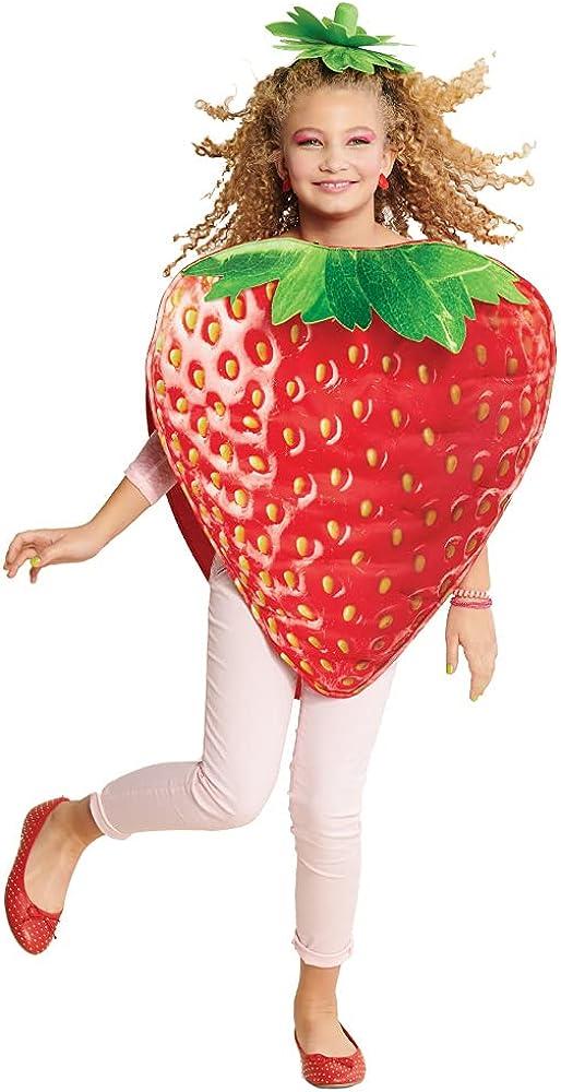 Halloween Costume Ranking TOP6 Children Mail order Fruit Strawberry 3-5