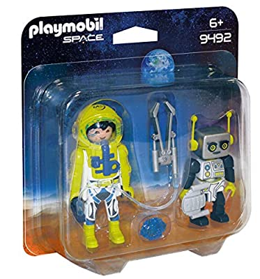 Playmobil 9492 Space Astronaut and Robot Duo Pack by Playmobil