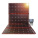 DOKIO 300w Solar Panel Kit Mono Portable Flexible Folding Include Solar Charge Controller and PV...