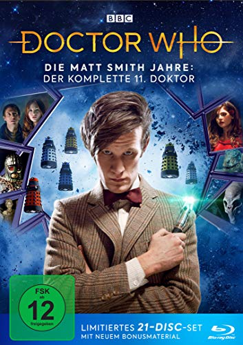 Doctor Who - Die Matt Smith Jahre: Der komplette 11. Doktor LTD. [Blu-ray]