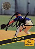 Autograph Warehouse 621626 Phil Nevin Autographed Baseball Card - Houston Astros 1994 Signature Rookies Gold Standard - No.64. rookie card picture