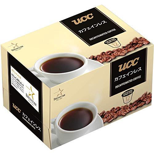 ユニカフェ Kカップ UCC カフェインレス 1箱(12個)