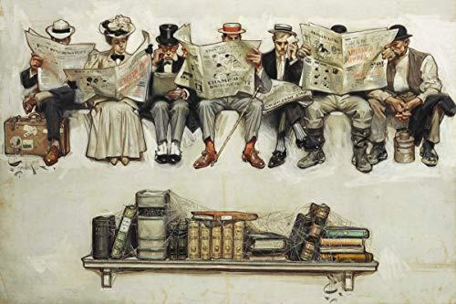 Berkin Arts Joseph Christian Leyendecker Giclee Lienzo Impresión Pintura póster Reproducción (Periódicos...