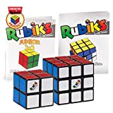 Rubik's Collection Cube | Pack de Cubes Cubes 2x2 et 3x3 Originaux, Packs de 2 Puzzles Classiques de Correspondance de Couleurs, avec Son Guide de Poche