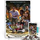 ZKSB Rompecabezas de póster HD Angry Video Game Nerd: The Movie Family Games Rompecabezas de película de 1000 Piezas Rompecabezas Muy Decorativo de Regalo 75x50cm
