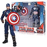 Figura De Acción De Juguete De Modelo ,Marvel Avengers 4, Spider-Man Iron Man, Capitán América, Capi...