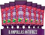 Aussie Tratamiento Acondicionador Intensivo Para El Cuidado Del Cabello SOS Anti-Frizz Shot Para Pelo Seco Y Encrespado 200 ml (8 x 25 ml)