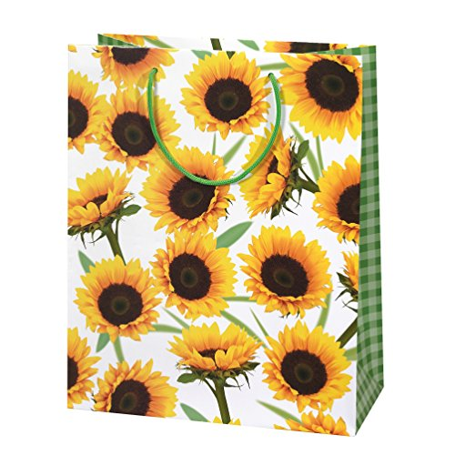 Susy Card cadeauzakjes, cadeauverpakkingen Motief: Sunny, papier, gelamineerd glans, 10 stuks per verpakking 34 x 27 x 5 cm