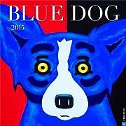 Blue Dog, 2015 Wall Calendar